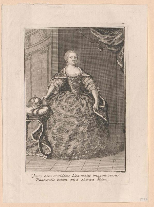 Maria Theresia, römisch-deutsche Kaiserin von Mansfeld, Johann