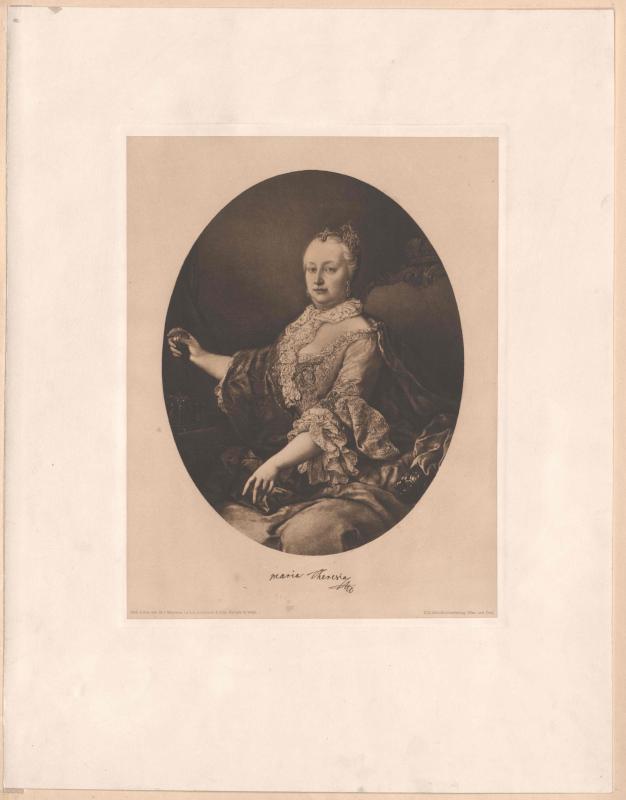 Maria Theresia, römisch-deutsche Kaiserin von Meytens, Martin van