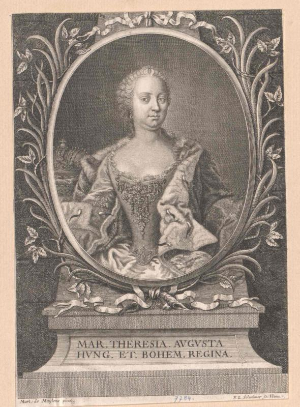 Maria Theresia, römisch-deutsche Kaiserin von Schmittner, Leopold