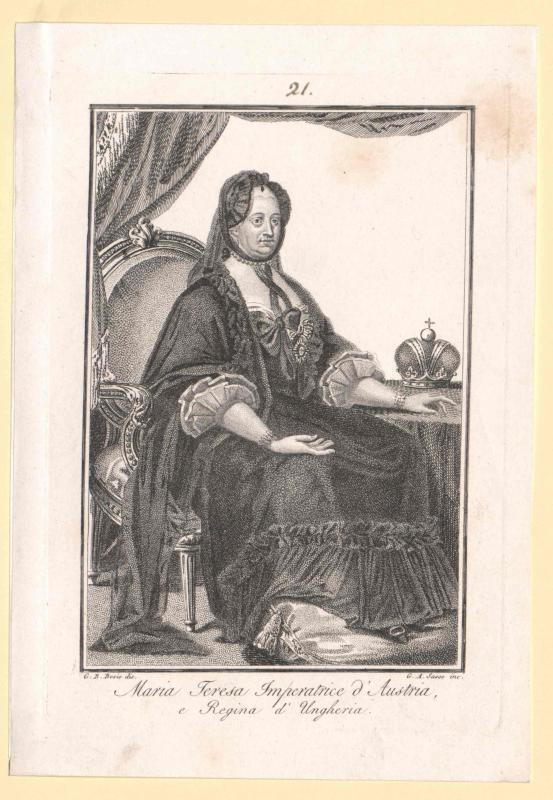Maria Theresia, römisch-deutsche Kaiserin von Sasso, Giovanni Antonio