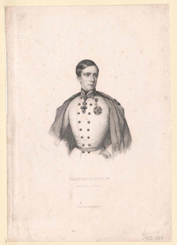 Franz Joseph I., Kaiser von Österreich von Ch. et A. Chardon, Paris