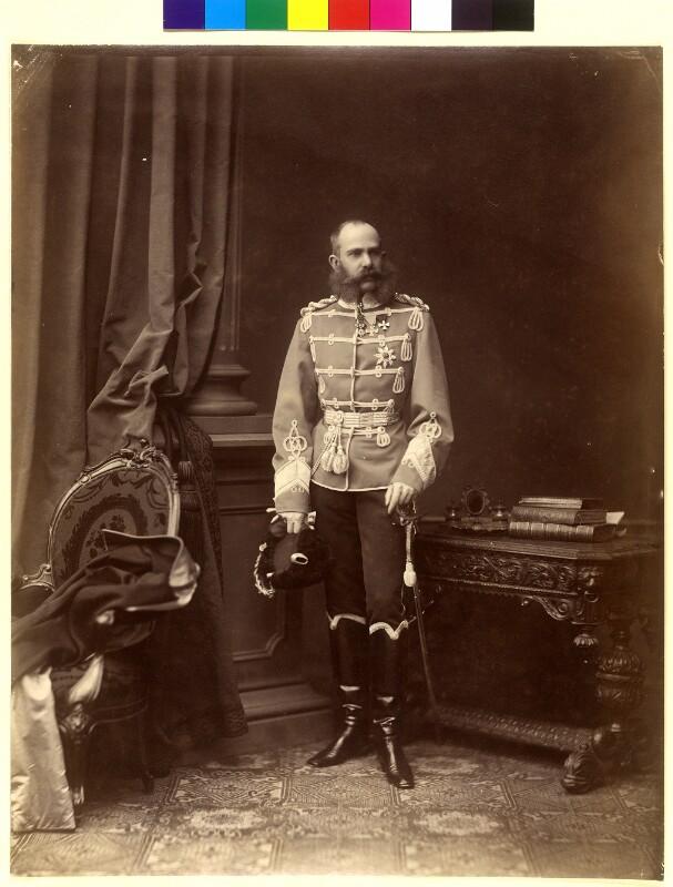 Franz Joseph I., Kaiser von Österreich von Angerer, Ludwig