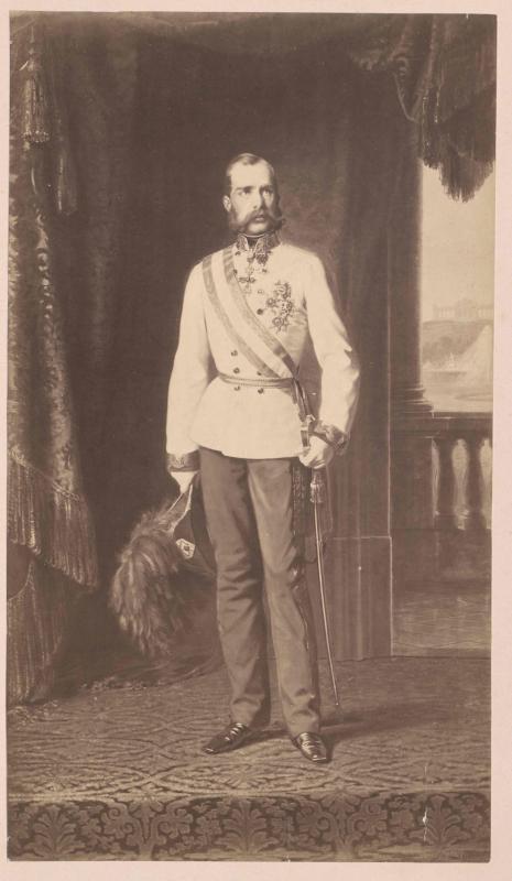 Franz Joseph I., Kaiser von Österreich von Engerth, Eduard von