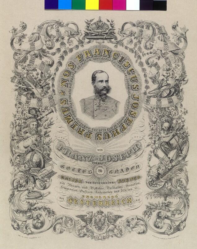 Franz Joseph I., Kaiser von Österreich  von Fischel, Abraham