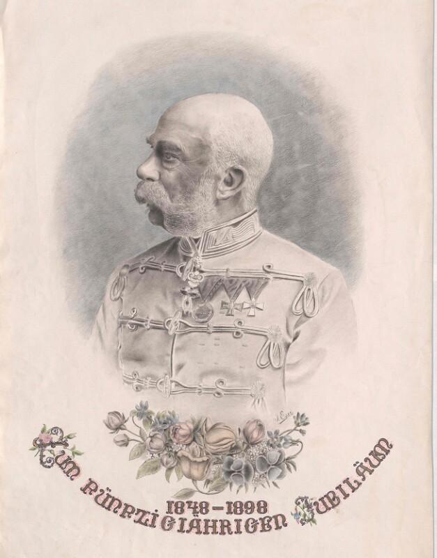 Franz Joseph I., Kaiser von Österreich von Eser, J.