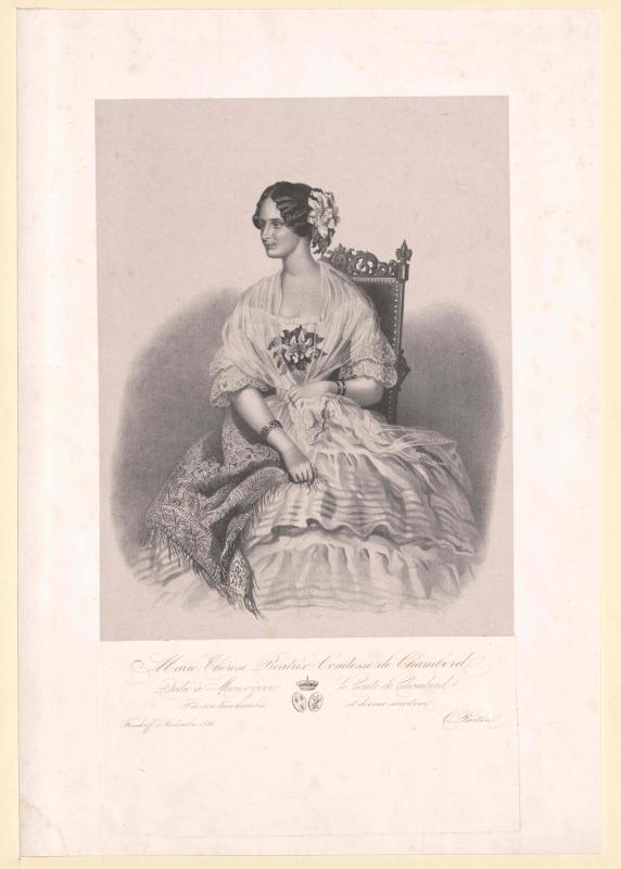 Maria Theresia, Erzherzogin von Österreich-Modena