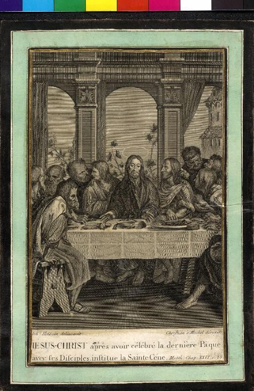 Letztes Abendmahl von Lips, Johann Heinrich