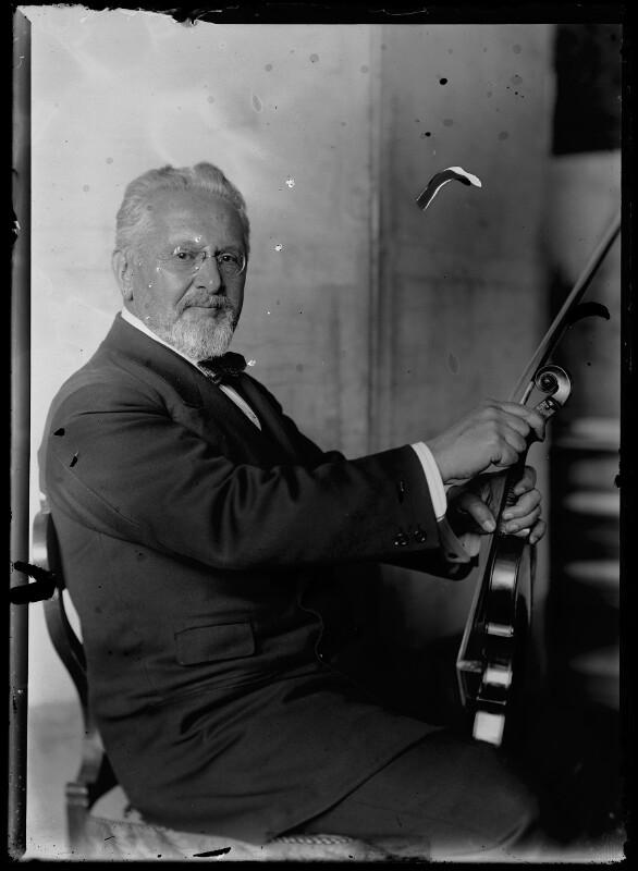 Bildnis Arnold Rosé (1863-1946) von Schmutzer, Ferdinand