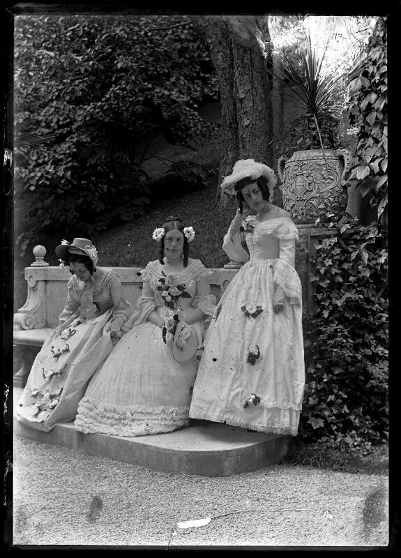 Die Schwestern Wittgenstein von Schmutzer, Ferdinand