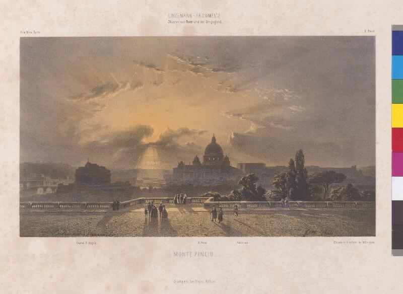 Monte Pincio von Lindemann-Frommel, Karl