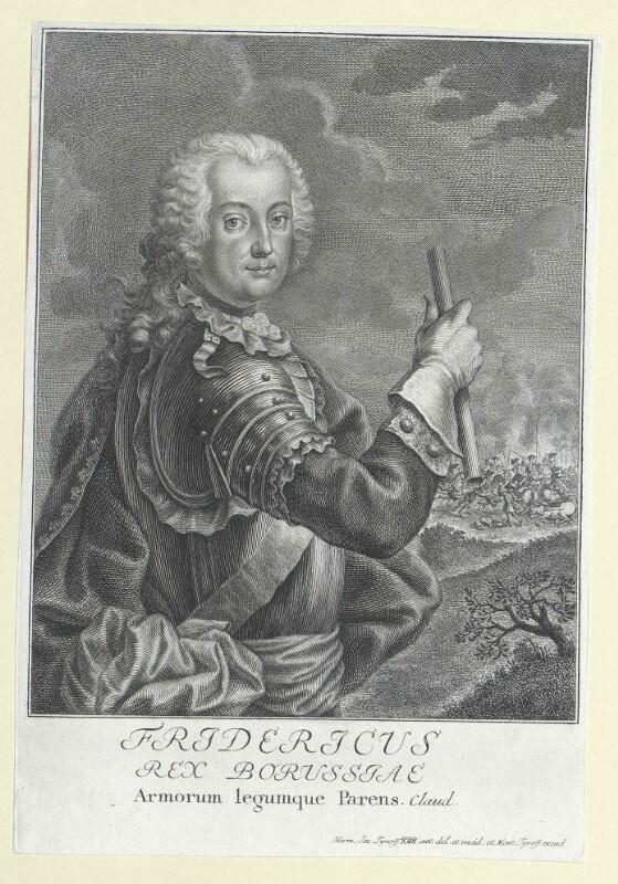 Friedrich II., König von Preussen von Tyroff, Hermann Jakob