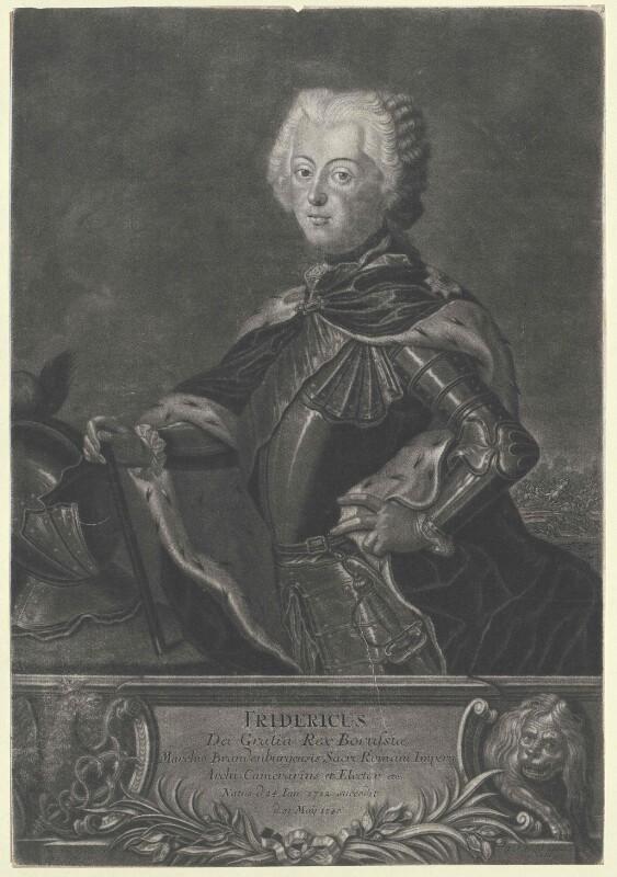 Friedrich II., König von Preussen von Wolfgang, Christian