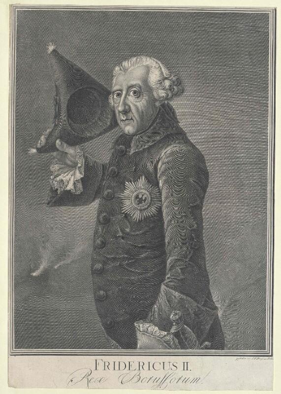 Friedrich II., König von Preussen von Bause, Johann Friedrich