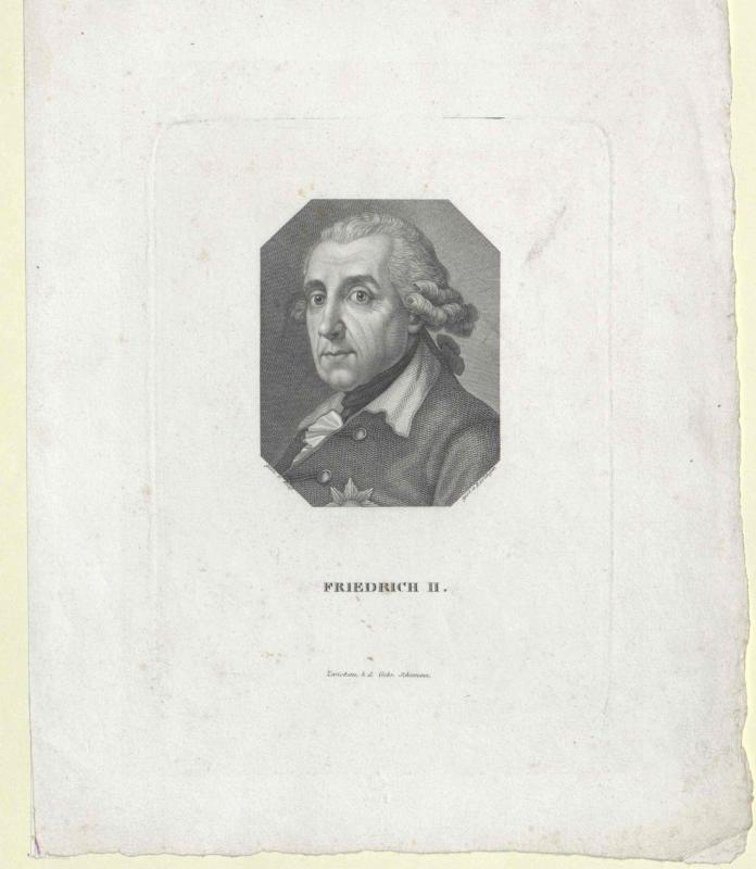 Friedrich II., König von Preussen von Esslinger, Martin