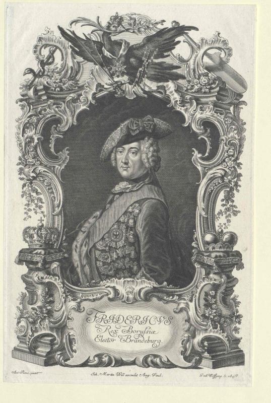 Friedrich II., König von Preussen von Will, Johann Martin