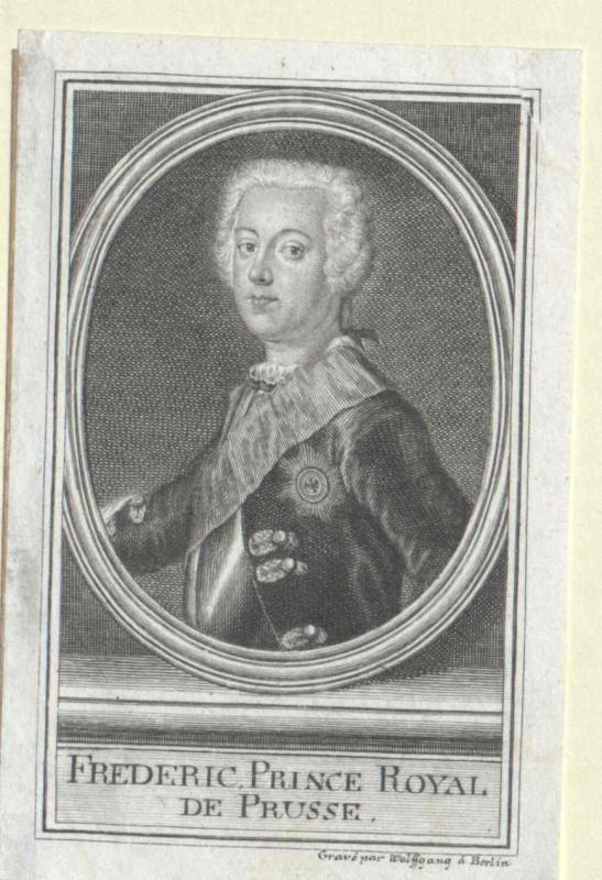 Friedrich II., König von Preussen von Wolfgang, Johann Georg