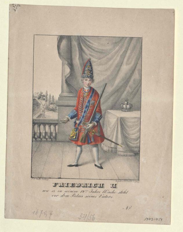Friedrich II., König von Preussen von Fricke, Friedrich August