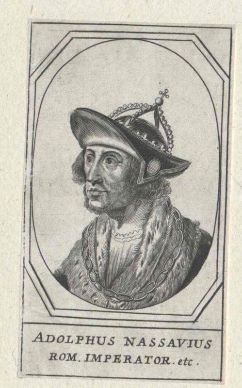 Adolf von Nassau, römisch-deutscher König