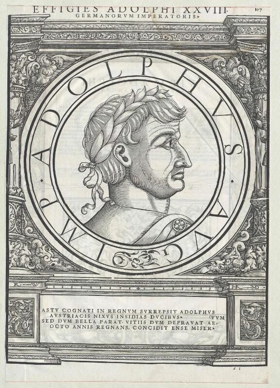 Adolf von Nassau, römisch-deutscher König von Manuel, Hans Rudolf