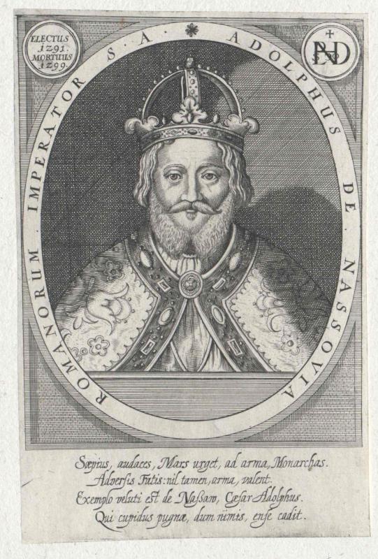 Adolf von Nassau, römisch-deutscher König von Furck, Sebastian