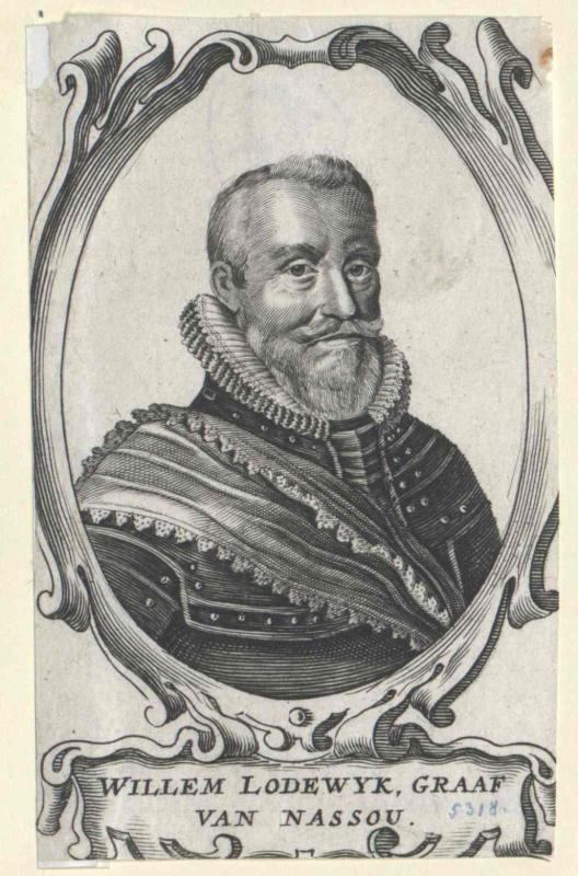 Wilhelm Ludwig, Graf von Nassau-Dillenburg von Melar, Adrian van