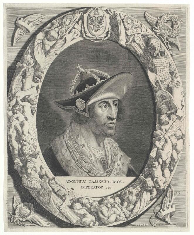 Adolf von Nassau, römisch-deutscher König von Soutman, Pieter