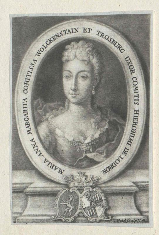 Wolkenstein-Trostburg, Maria Anna Margareta Gräfin von