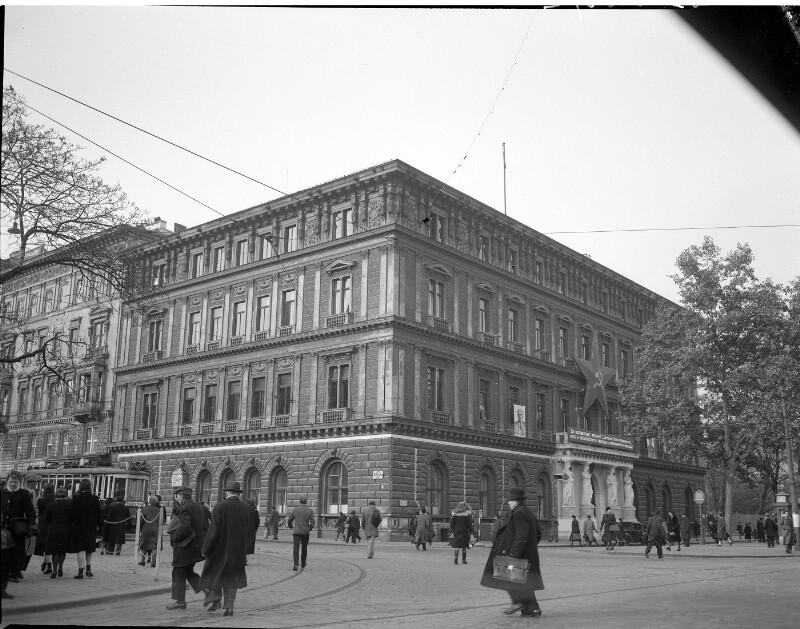 Wien 1., Ringstraße (Burgring 9) von United States Information Service