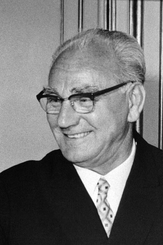 Franz Jonas  von United States Information Service