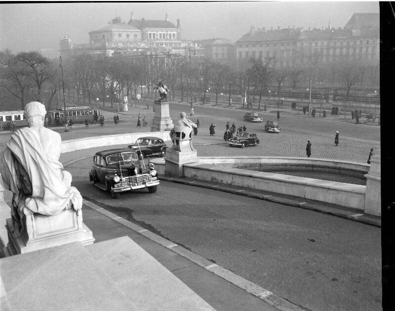 Wien 1., Ringstraße von United States Information Service