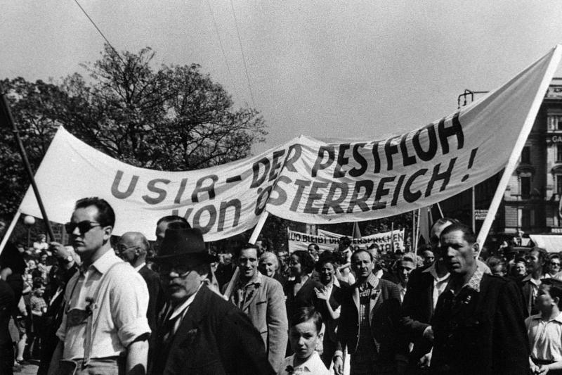 Maifeier der Wiener SPÖ von United States Information Service