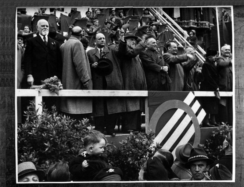 Maifeiern der Wiener Sozialistischen Partei Österreichs ... von United States Information Service