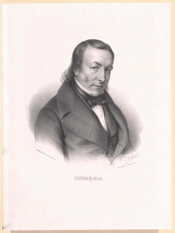 Cormenin, Louis Marie Vicomte