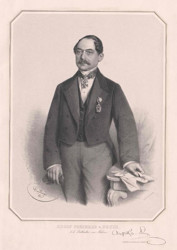 Poche, Adolf Freiherr