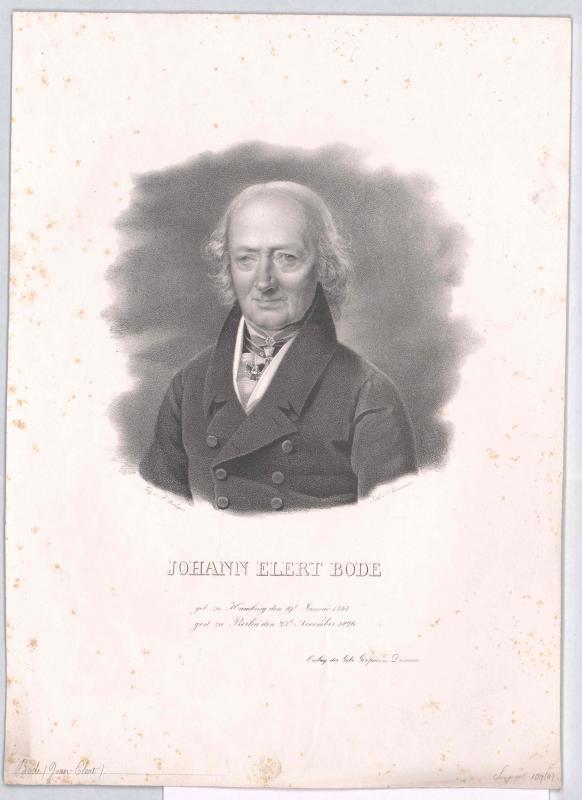 Bode, Johann Elert von Oldermann, Friedrich
