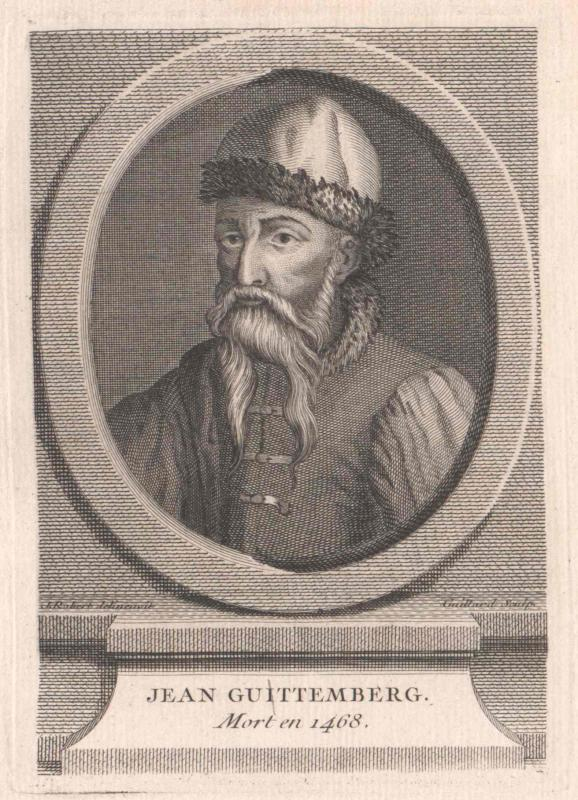 Gutenberg, Johann Gensfleisch von Gaillard, René