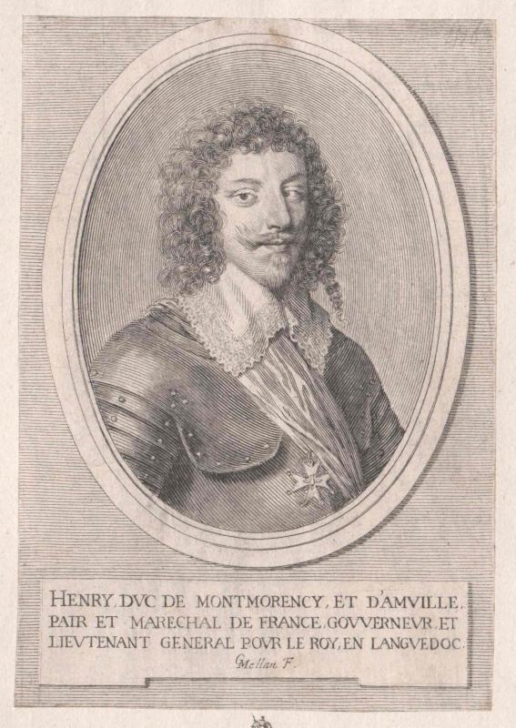 Montmorency, Henri Comte de Damville, Duc de von Mellan, Claude