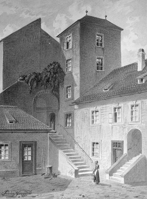 Wien 6, Esterhazy-Schlössl von Gerasch, Franz