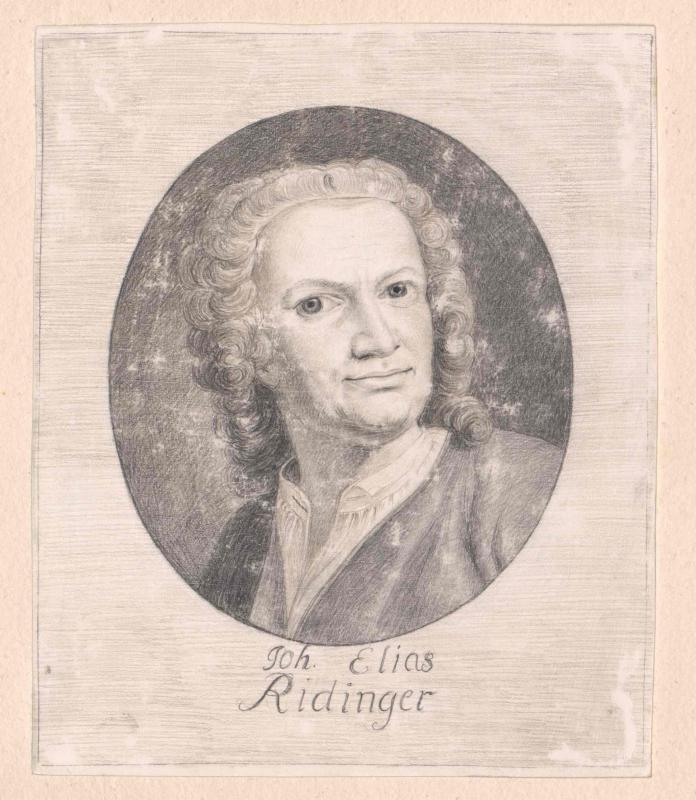 Ridinger, Johann Elias