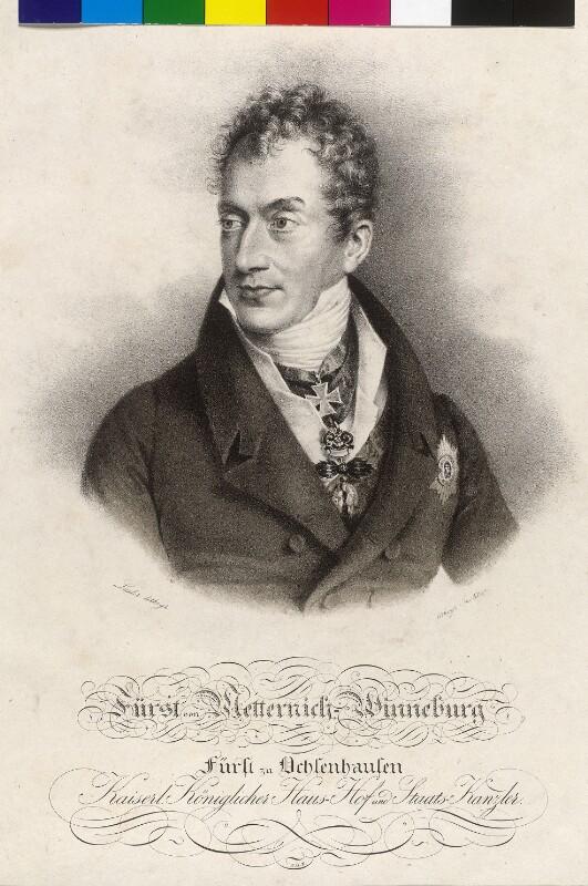 Metternich-Winneburg, Klemens Wenzel Lothar Fürst von von Lieder, Friedrich Johann Gottlieb