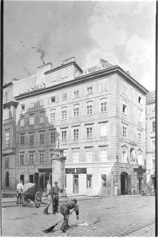 Wien 1, Krugerstraße 12 von Poledne, Franz