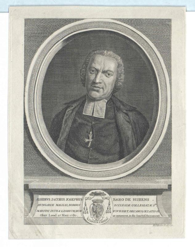 Hubens, Ägidius Jakob Josef Freiherr von
