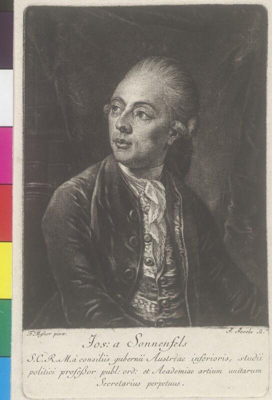 Sonnenfels, Josef Freiherr von (1733-1817)