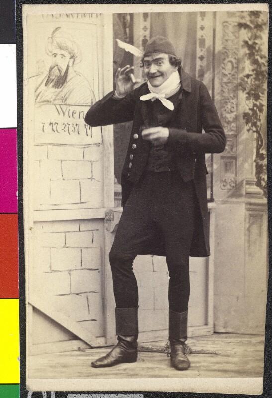 Johann Nestroy als Tratschmiedl