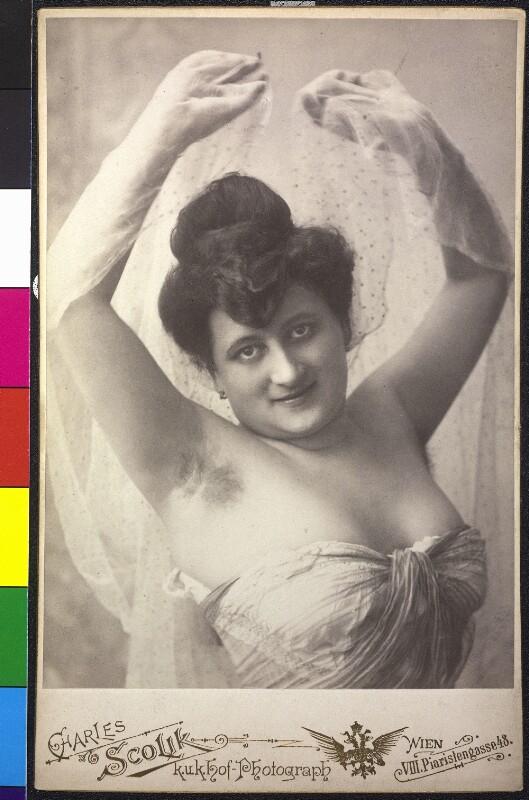 Damenporträt von Scolik, Charles