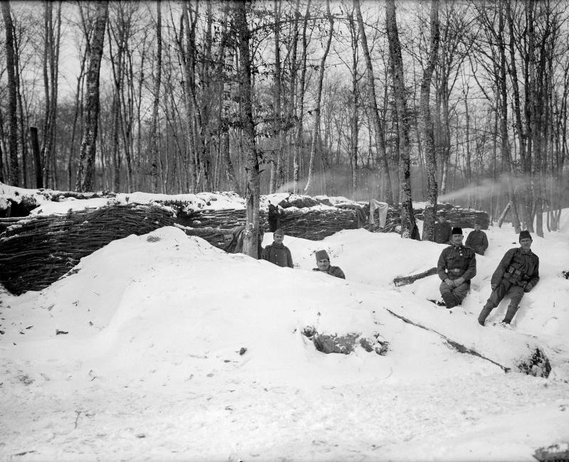Jagdzug des 2. Bataillons des bh. Infanterie Regiments 1 von K.u.k. Kriegspressequartier, Lichtbildstelle - Wien