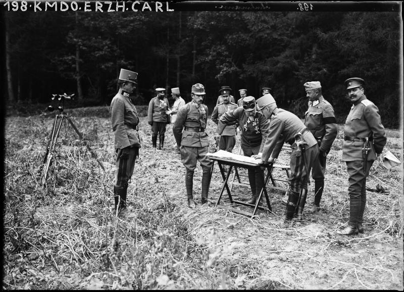Frontbesuch des bulgarischen Zaren Ferdinand I. von K.u.k. Kriegspressequartier, Lichtbildstelle - Wien