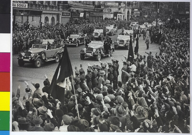 Hitlers Einzug in Wien von Hilscher, Albert