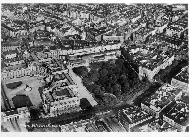 Wien 1, Neue Burg und Burggarten