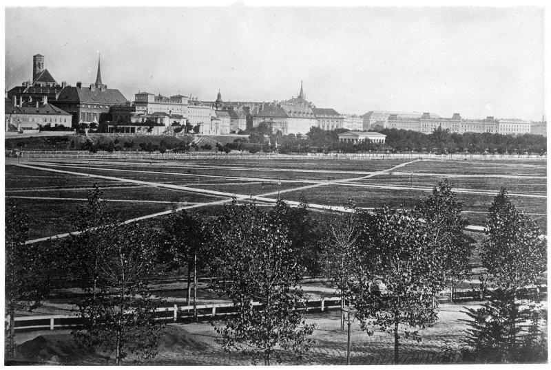 Wien 1, Blick über das Josefstädter Glacis